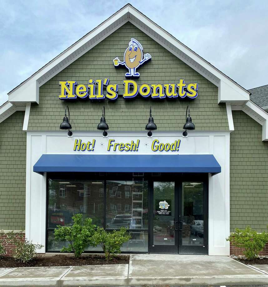 Neil's Donuts storefront at 211 S. Main Street, Middletown. Owner Neil Bukowski Jr. plans a soft opening on either Oct. 14 or Oct. 20 and a grand opening during the second week of November. The new store will be open from 6 a.m. to 3 p.m. Tuesdays through Fridays and closed on Mondays. Weekend hours will be Saturday, 6 a.m. to 2 p.m., and Sunday, 6 a.m. to 1 p.m. The Middletown location, unlike Neil's in Wallingford, will feature a drive-thru option for customers. The menu is not expected to change and will include the same variety of breakfast sandwiches, bagels, coffee and of course: doughnuts. Photo: Contributed Photo / Neil Bukowski Jr.