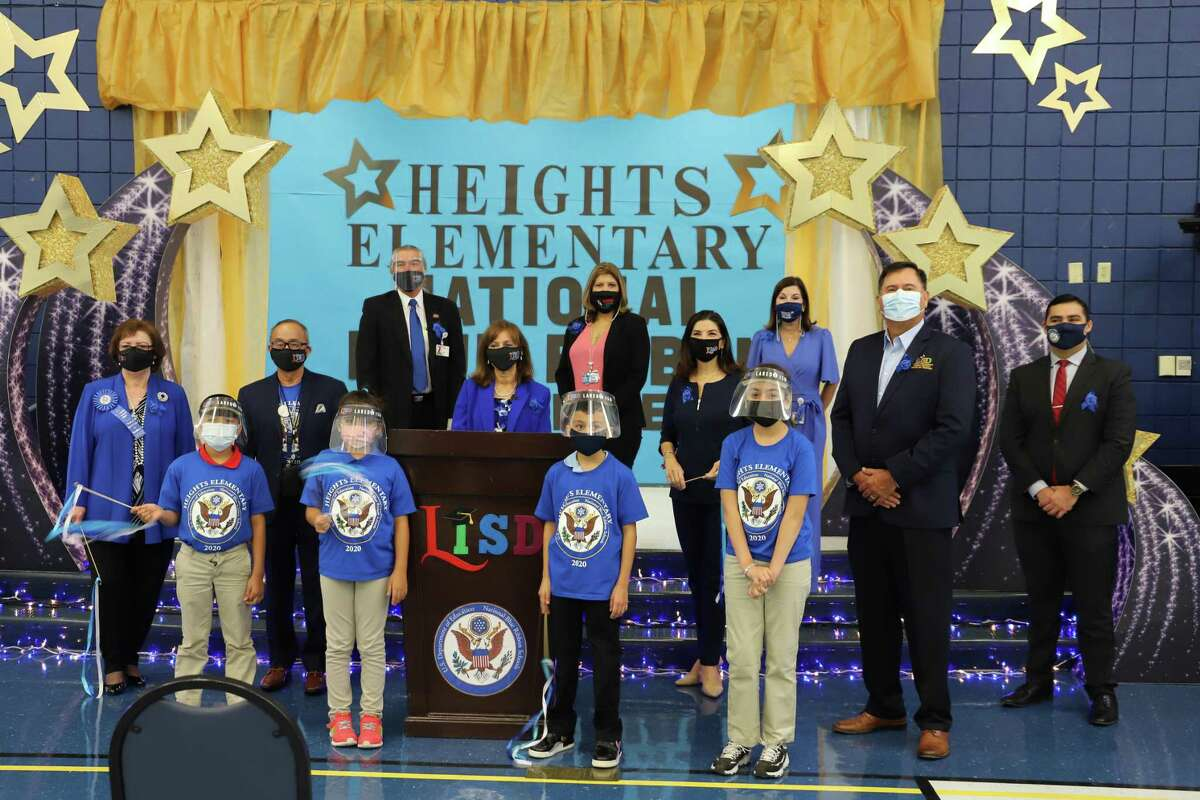 Heights Elementary received a Blue Ribbon in the Exemplary High Performing Category.