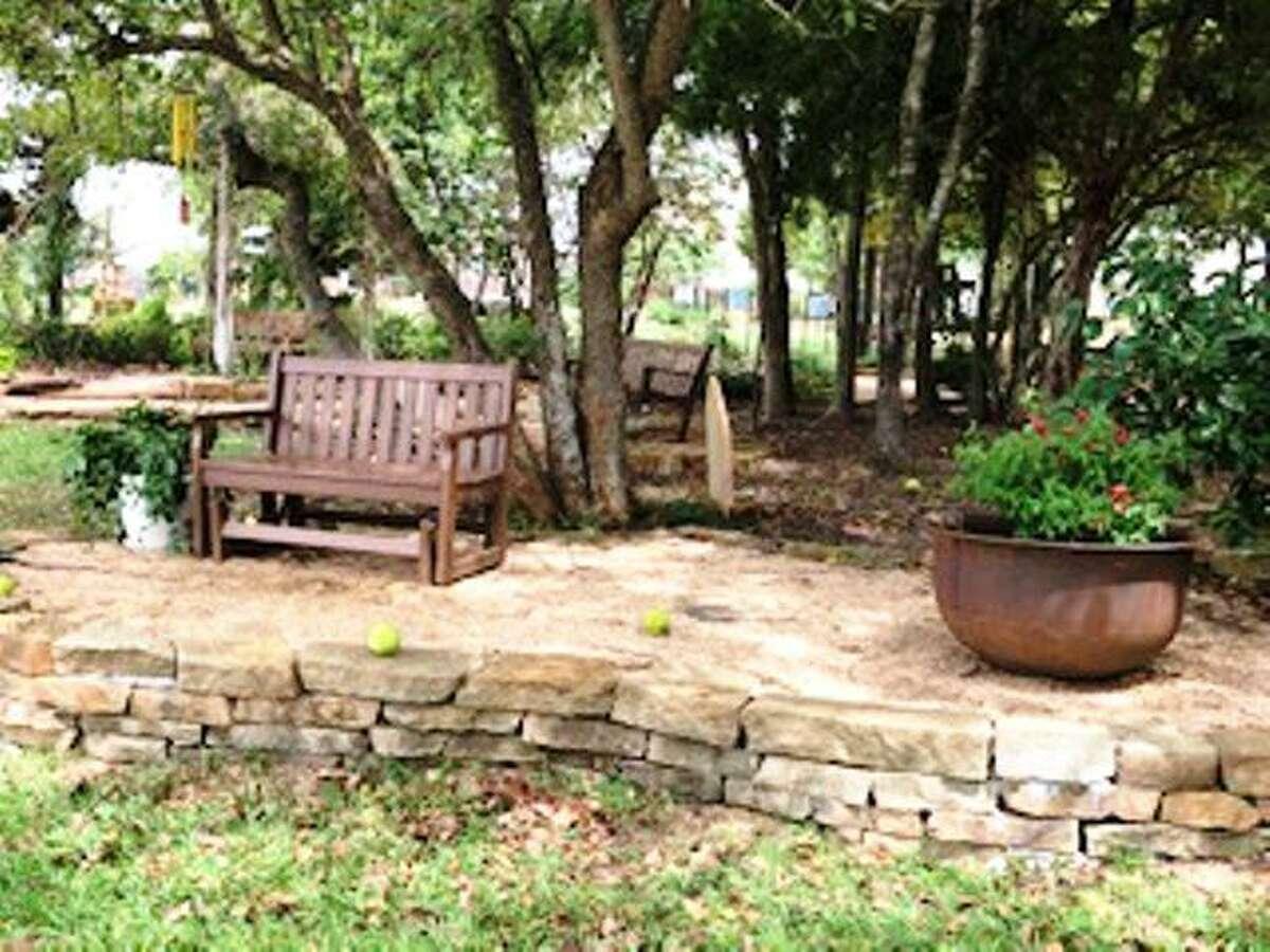 The Lorrie Parker Garden in Memory Park.