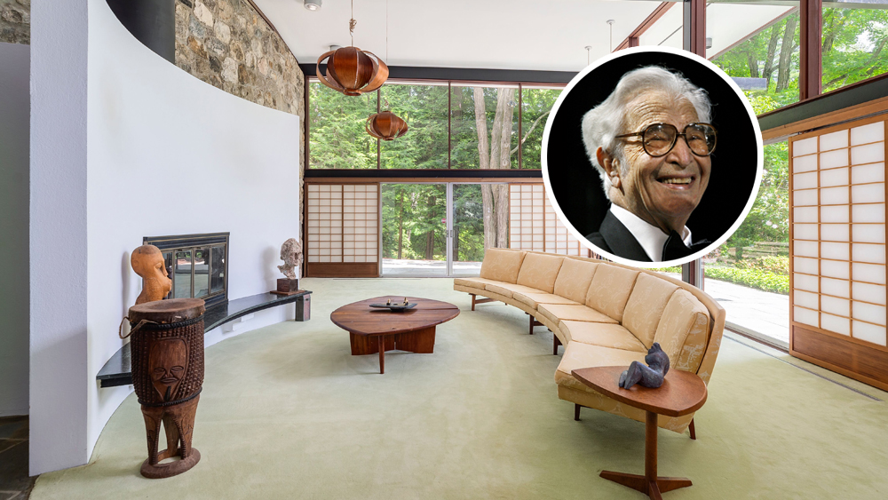 Dave Brubeck's Connecticut Home Lists to the Tune of $2.75 Million