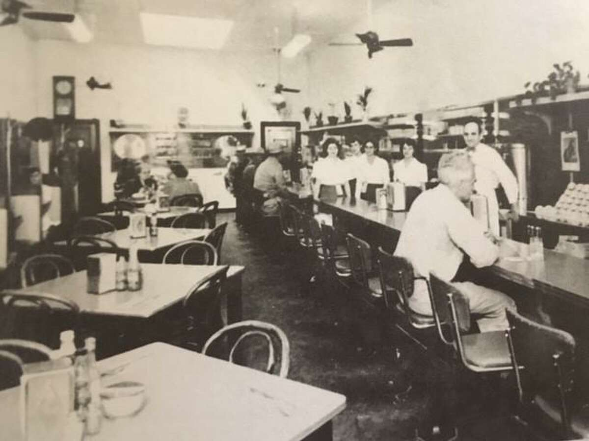 Jimmie Williams Cafe was located on Main Street across from the Crighton Theatre. In the 1950s J.W.