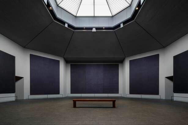 Rothko Chapel interior and new skylight