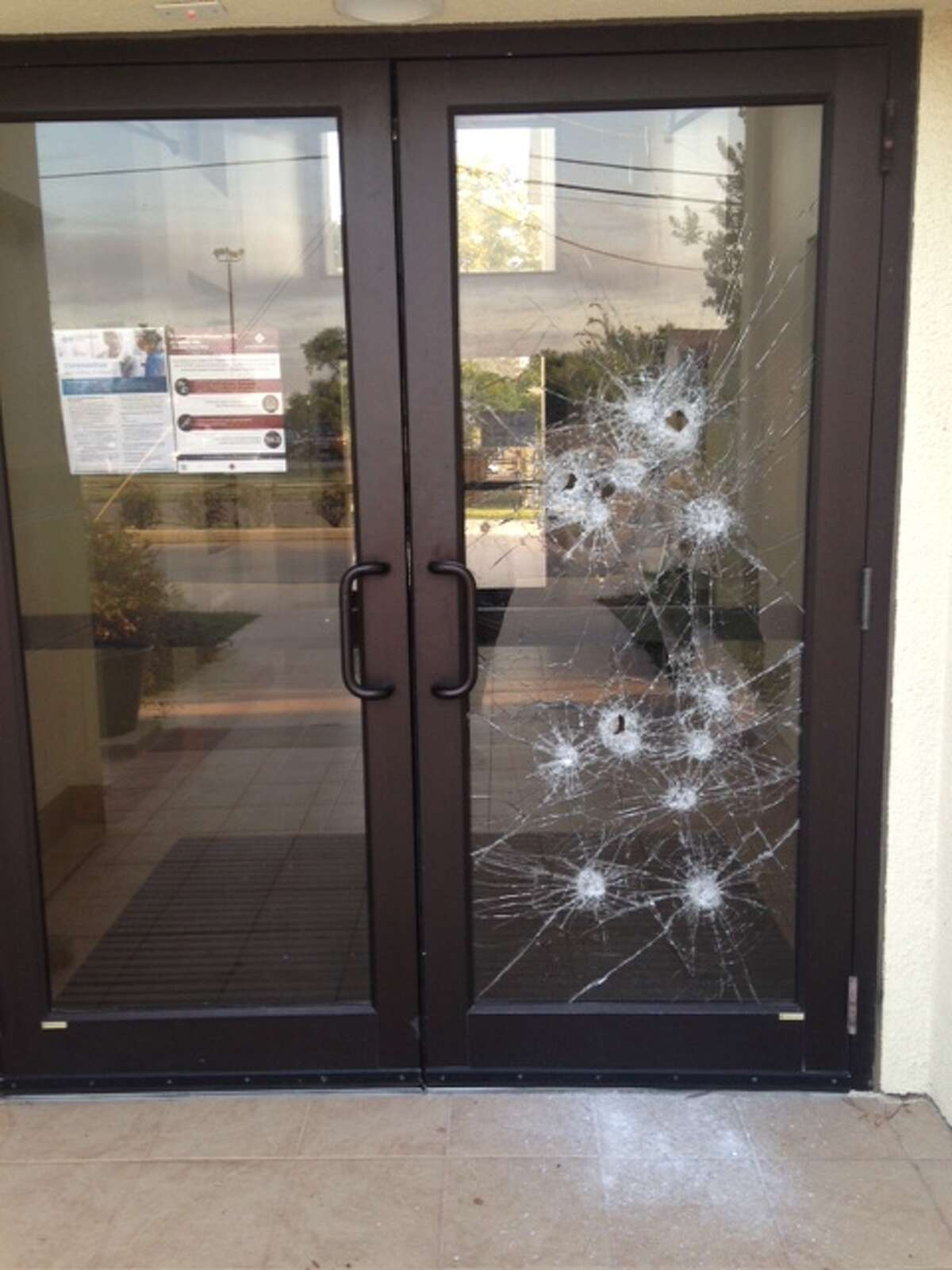 Assumption Seminary near Woodlawn Lake was vandalized Thursday night, according to the Archdiocese of San Antonio.