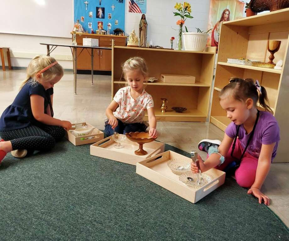 Manistee Catholic Central Schools is implementing the Catechesis of the Good Shepherd program to teach faith formation to students in preschool through fifth grade. (Courtesy photo)