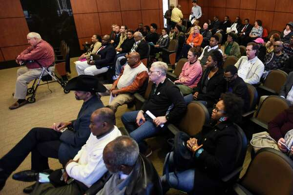 Beaumont's City Council speaks to a full chamber of residents who were lobbing for the former Melton YMCA building to be opened on nights and weekends for the community to gather. Photo taken on Tuesday, 01/29/19. Ryan Welch/The Enterprise