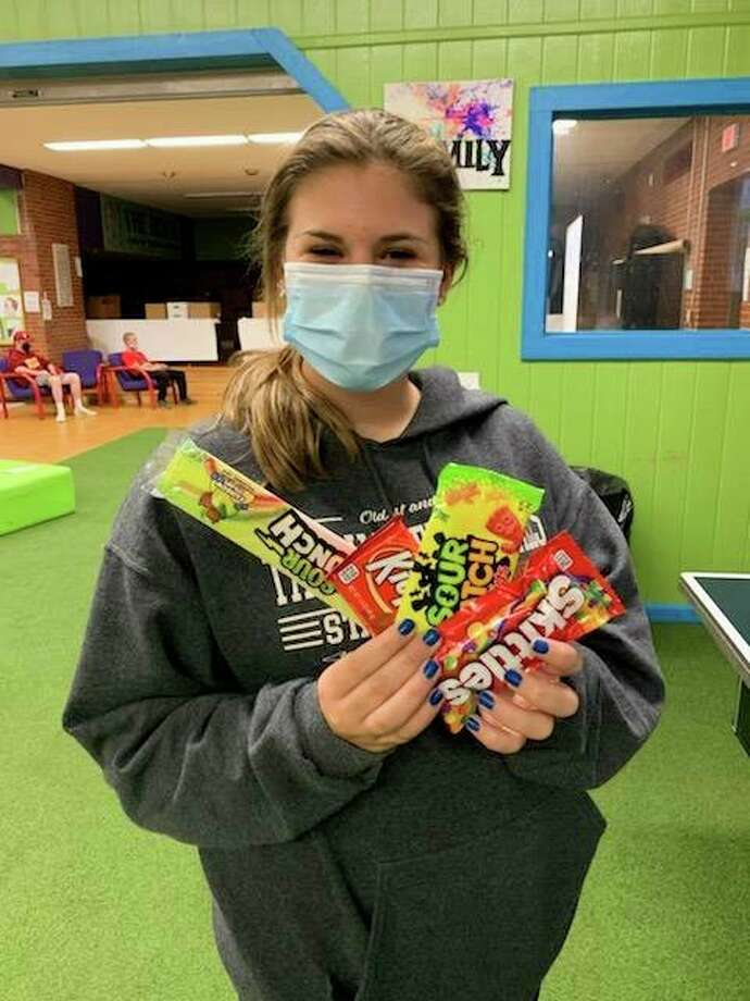 The ROCK Center for Youth Development is selling candy bars at their sites to help get the word out about the United Way's campaign and add a little sweetness to efforts. (Photo provided)