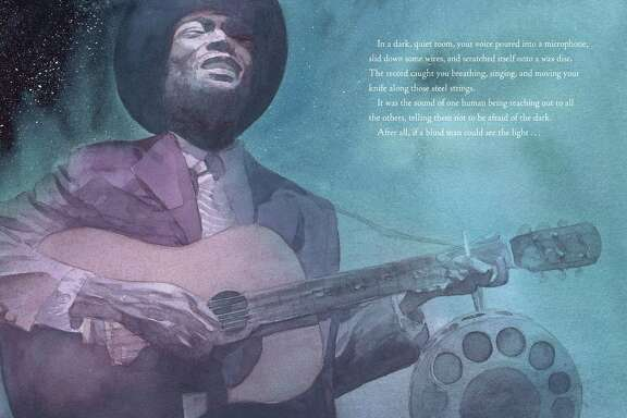 "Gary Golio's latest children's book is ""Dark was the Night"" explores the life and spirituality of musician Blind Willie Johnson."