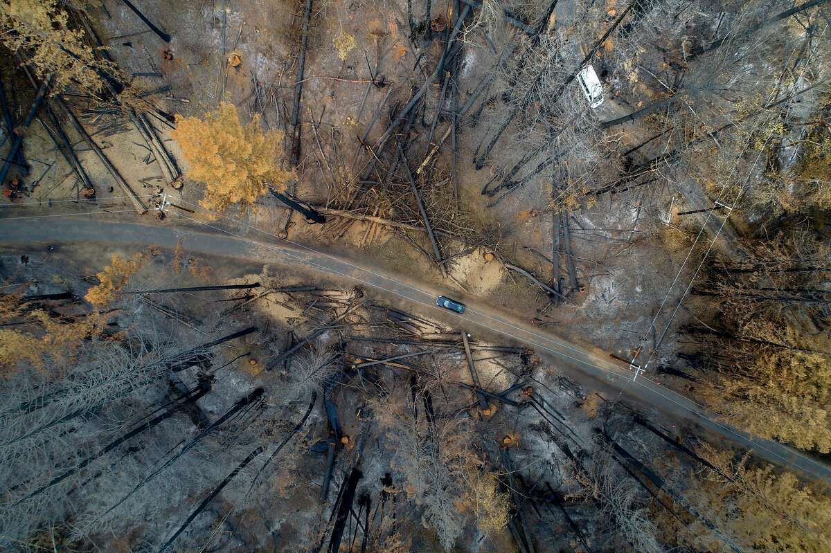 Despite being devastated by the Walbridge Fire, an area around Mill Creek Road outside Healdsburg could burn again.