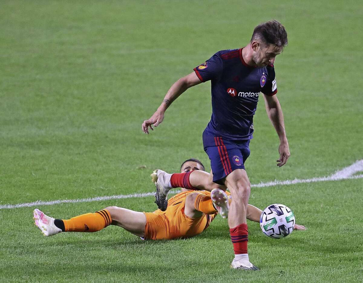 The Dynamo and Matias Vera fell flat early in their loss to Chicago on Wednesday and hope to be ready for Nashville on Saturday.