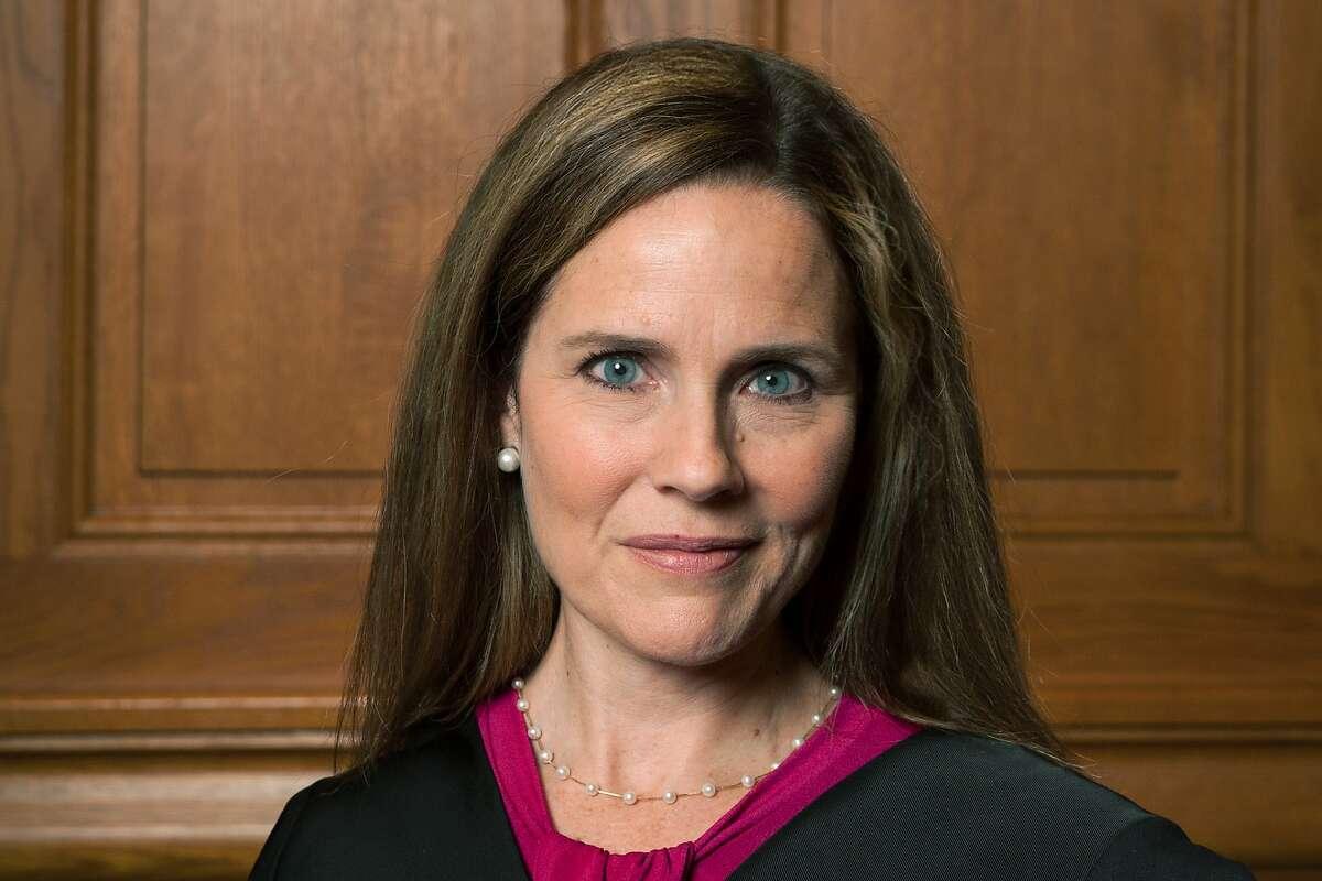 Judge Amy Coney Barrett on Aug. 24, 2018.