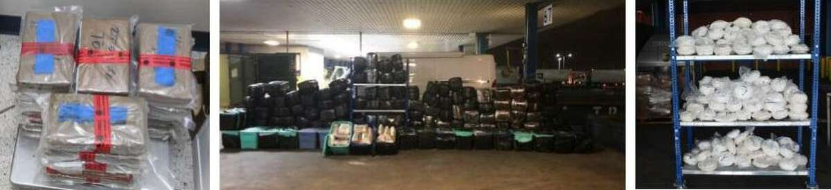 U.S. Customs and Border Protection officers seized more than $10 million in cocaine, marijuana and meth during separate enforcement actions at the World Trade Bridge.