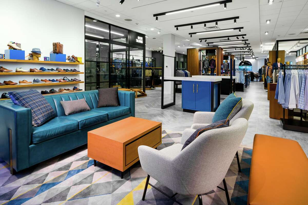 Men's Wearhouse unveiled a new store format at its Shenandoah location at 19075 Interstate 45. The company worked with Nelson Worldwide to create a layout that is easy for customers to navigate and incorporates digital shopping elements.