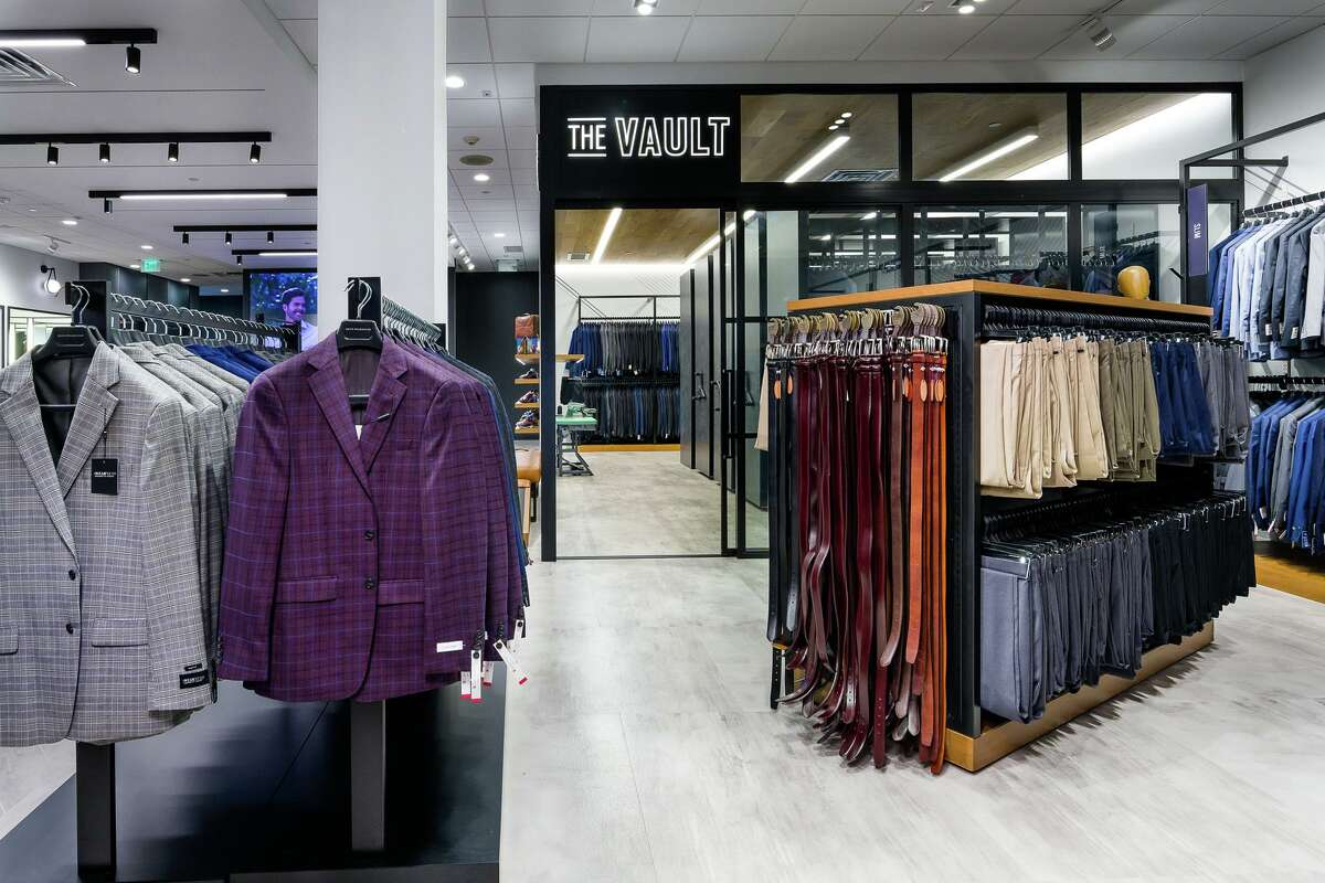 Men's Wearhouse unveiled a new store format at its Shenandoah location at 19075 Interstate 45.