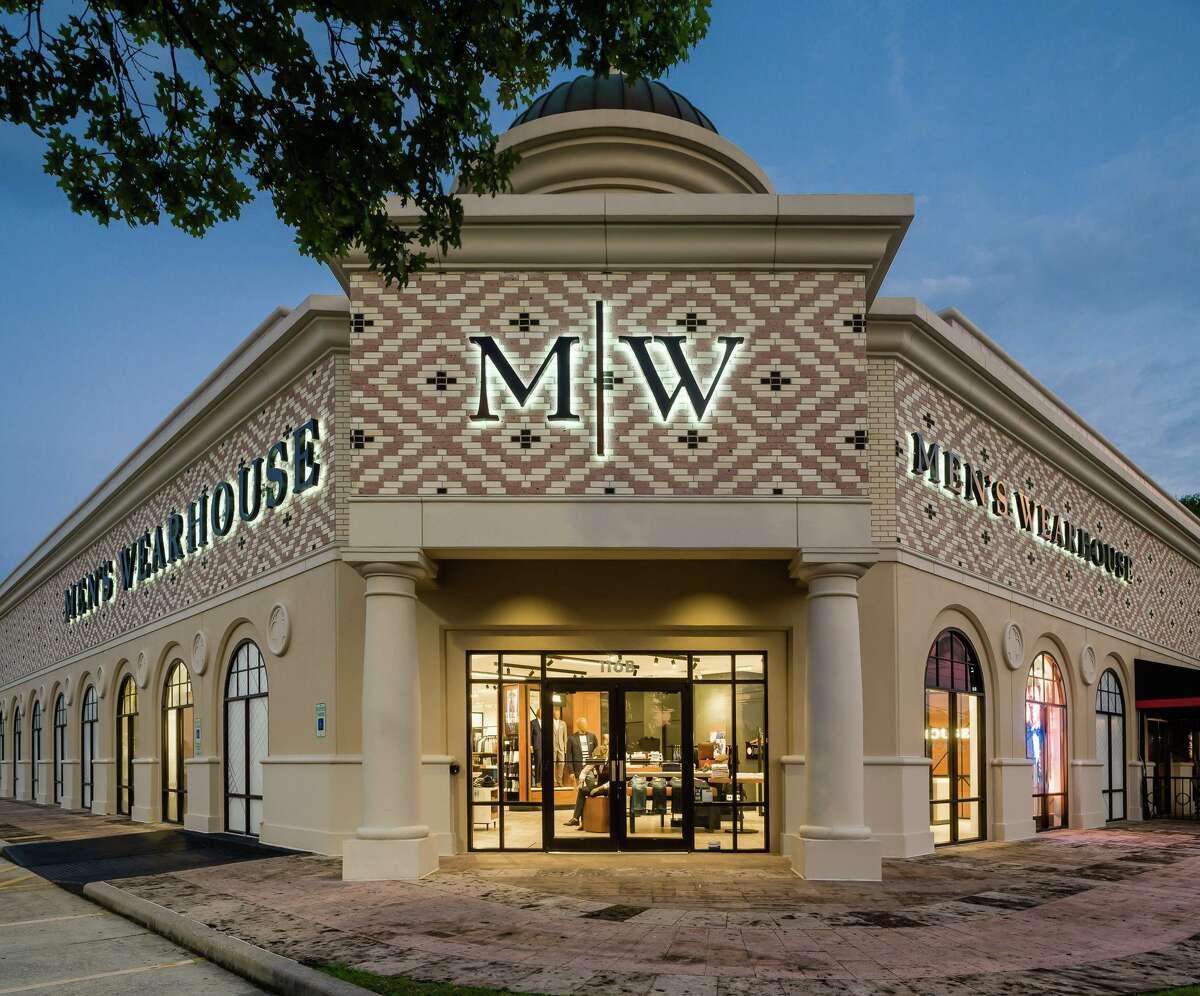 Men's Wearhouse's Shenandoah location at 19075 Interstate 45.