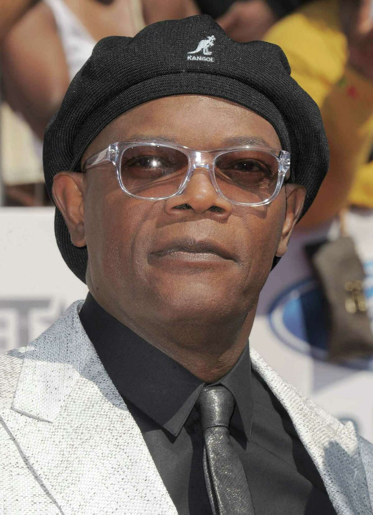 FILEv - Samuel L. Jackson arrives at the BET Awards on Sunday, July 1, 2012, in Los Angeles. The Spike Video Game Awards announced Thursday, Nov. 29, 2012 that the gaming extravaganza's previous emcees would join Aƒa€šA'a€œThe AvengersAƒa€šA'a€ star and four-time VGAs host Samuel L. Jackson at the Dec. 7 show.(Photo by Jordan Strauss/Invision/AP, File)