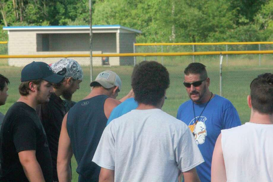 Art Campione won his first game as the Morley Stanwood football coach on Friday. (Pioneer file photo)