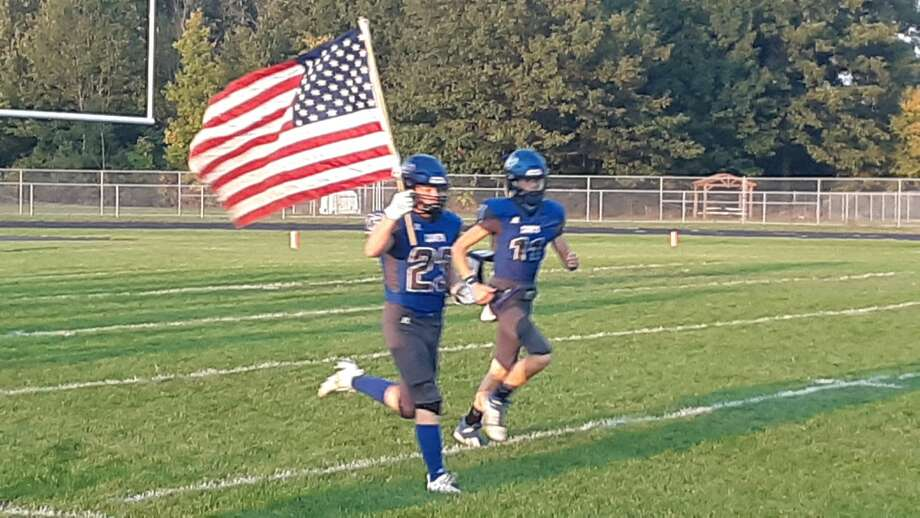 Coleman hosted Lawrence in an 8-player football game on Friday, September 25, 2020. Photo: Dan Chalk/chalk@mdn.net