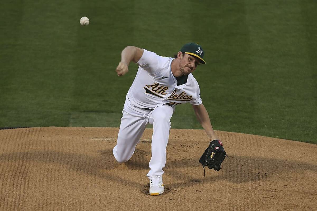 Chris Bassitt pitched seven shuitout innings against the Seattle Mariners on Friday night.