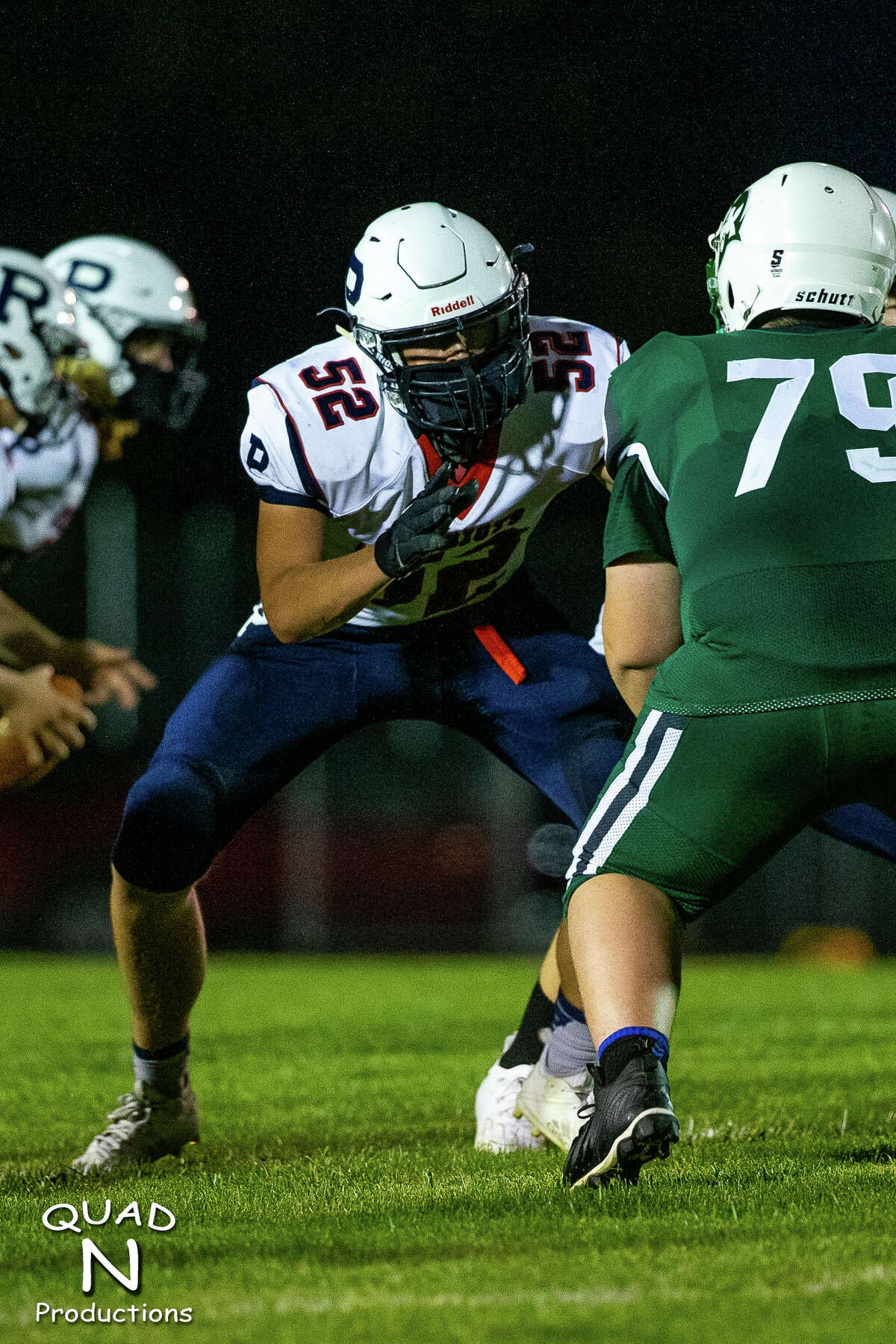 The USA Patriots shutout the visiting Brown City Green Devils, 53-0, on Friday night.