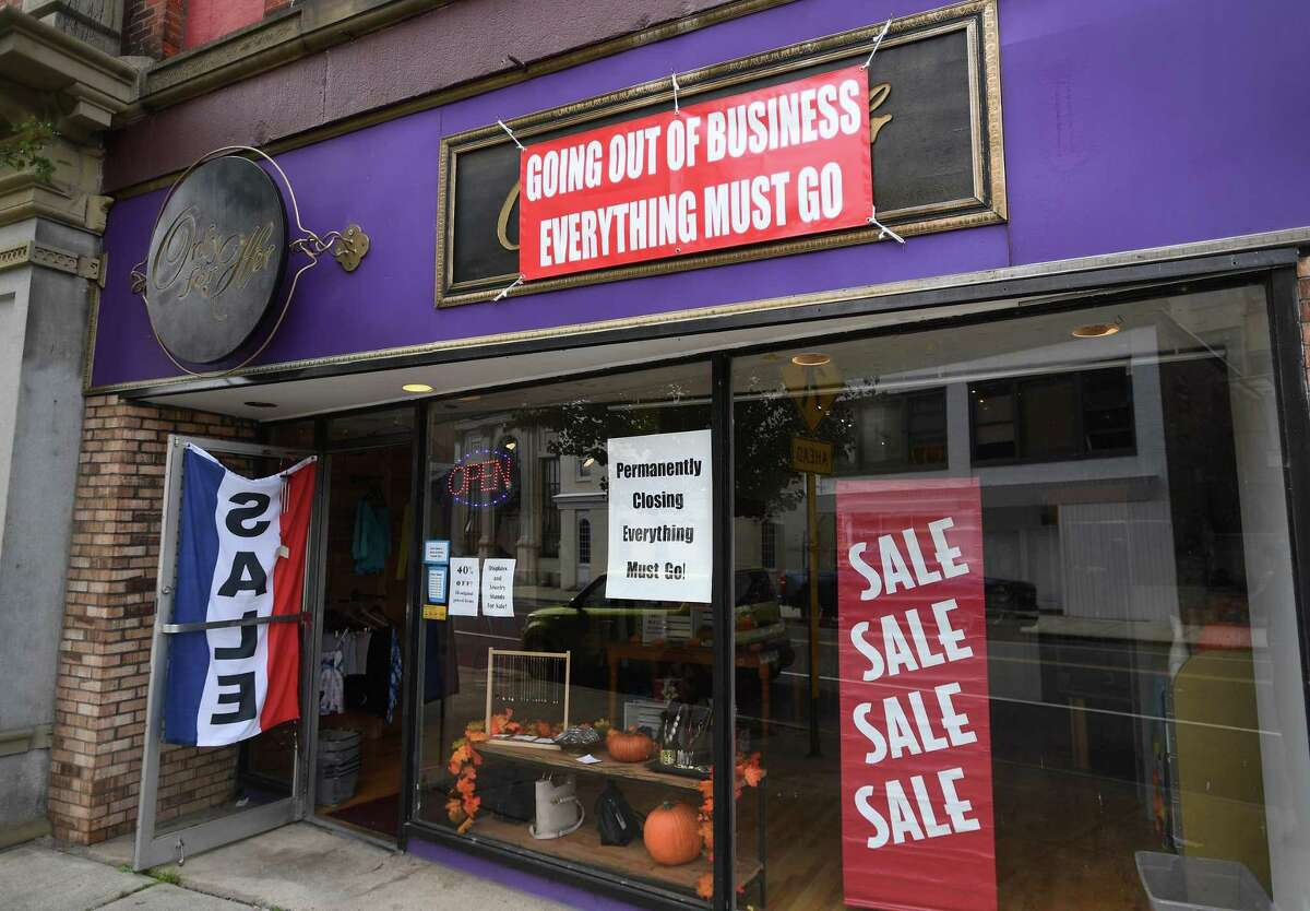 Only For Her boutique is closing Sept. 30 after 20 years of business on Ansonia's Main Street. Owner Libby Meissner blames the pandemic.