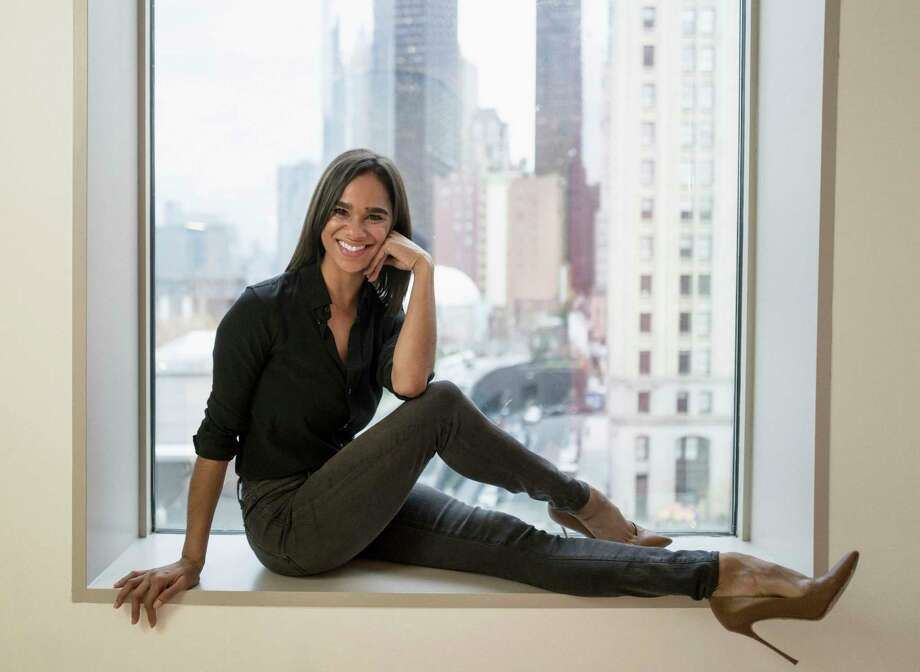 In this Nov. 19, 2019, photo, Misty Copeland poses for a portrait in New York. No other ballet dancer has crossed over into mainstream popular culture like Misty Copeland. Now Copeland, the first black female principal dancer at American Ballet Theatre, is the latest celebrity to teach an online MasterClass. (Photo by MattLicari/Invision/AP) Photo: Matt Licari / Matt Licari/Invision/AP / 2019 Invision