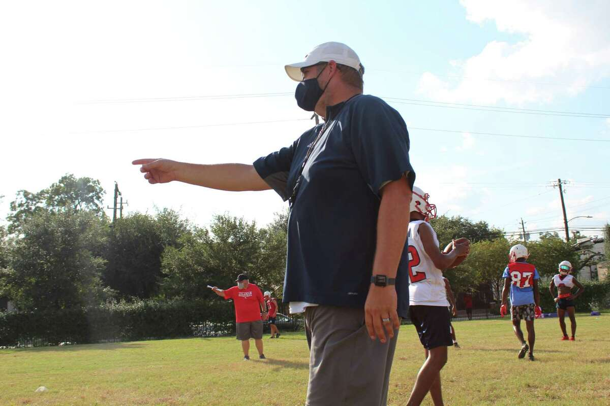 Houston Lamar football coach Michael Lindsey begins his third season with the Texans looking to build on Texas coaching legend Tom Nolen.