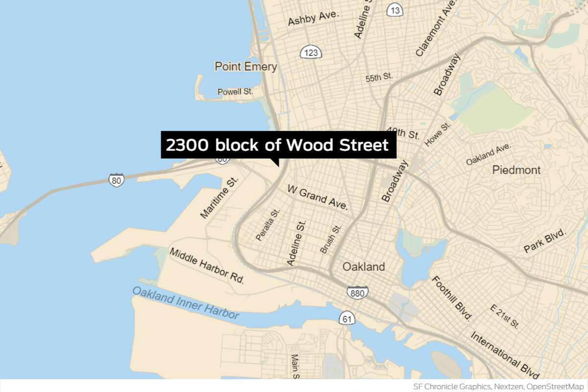 A homeless man was shot in West Oakland Saturday, Sept. 26. He is a resident of the homeless camp on the 2300 block of Wood Street.