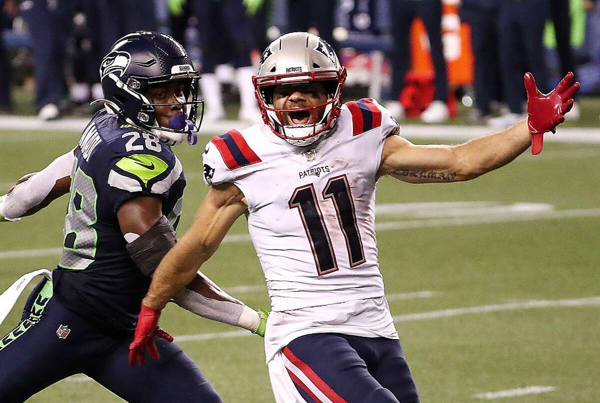 New England Patriots wide receiver Julian Edelman already has a team-high 236 yards receiving through two games this season, including a career-high 179 last week.