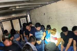 U.S. Border Patrol agents said they discovered 31 people inside a commercial box truck. The individuals were determined to be immigrants who had crossed the border illegally.