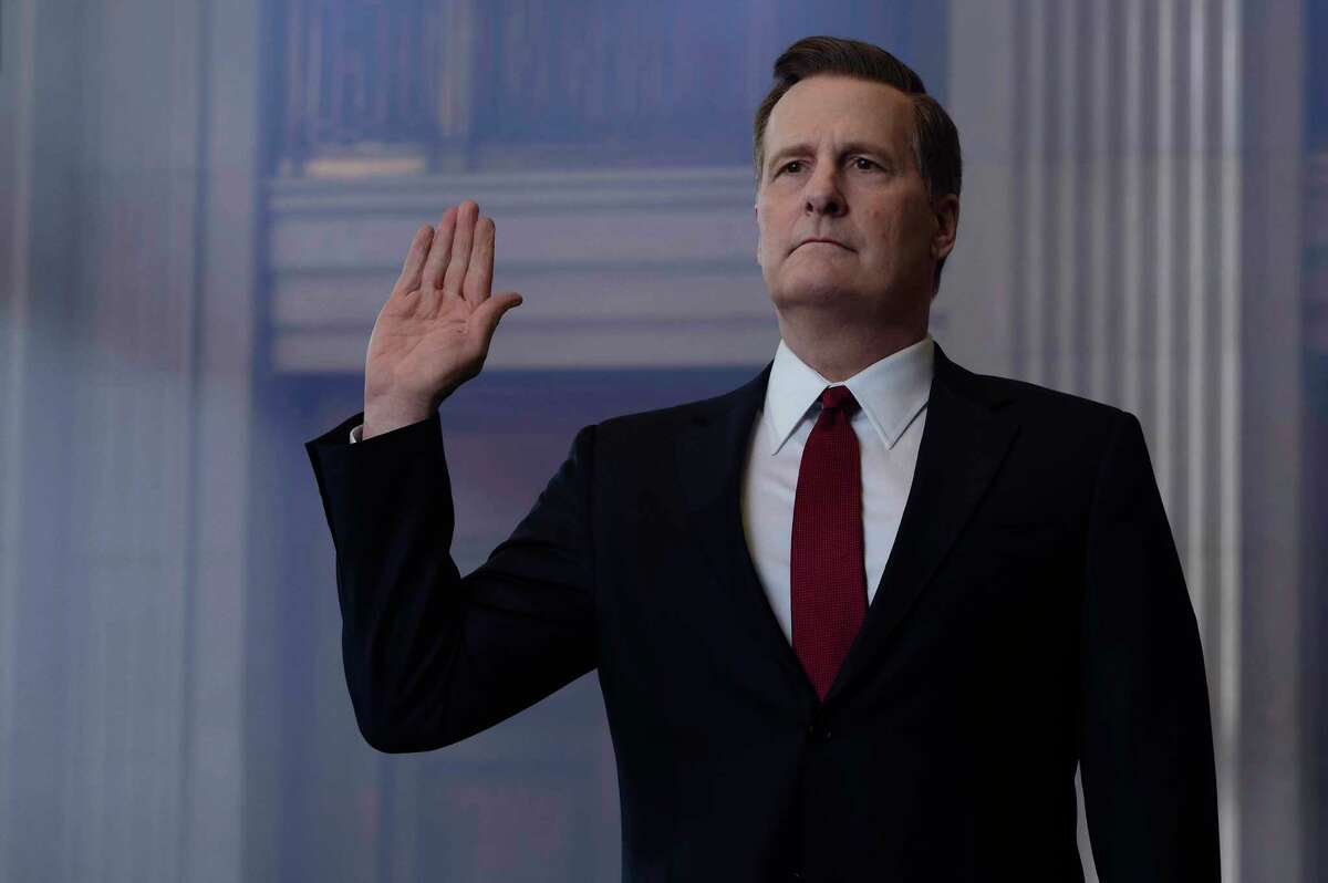 Jeff Daniels stars as former FBI director James B. Comey in