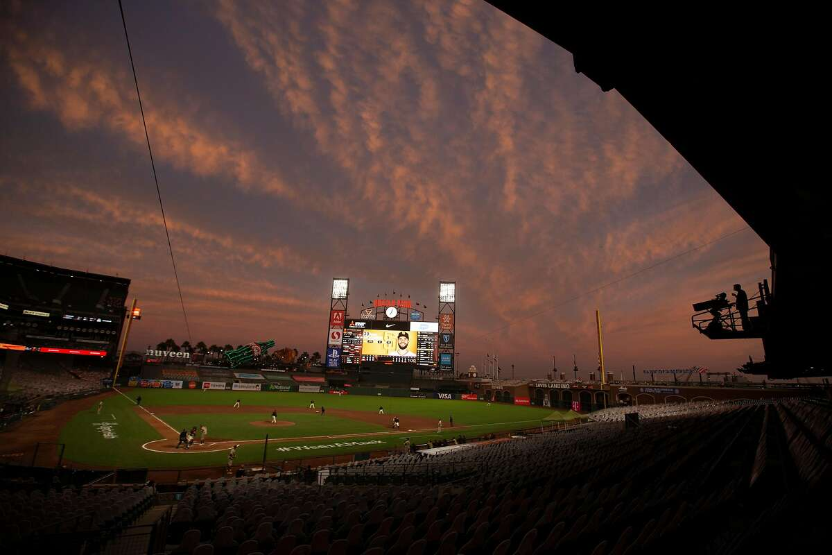 The Giants open Oracle Park to fans for their home opener against the Rockies at 1:35 p.m. Friday (NBCSBA/104.5, 680).