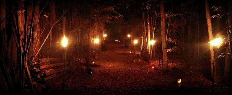 A scene from a previous Haunted Forest Walk. (Photo provided/Deb Forshee)