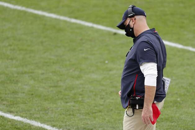 Houston Texans head coach Bill O'Brien looks toward the turf after a Pittsburgh Steelers first down during the fourth quarter of an NFL football game at Heinz Field on Sunday, Sept. 27, 2020, in Pittsburgh. Photo: Brett Coomer/Staff Photographer / © 2020 Houston Chronicle