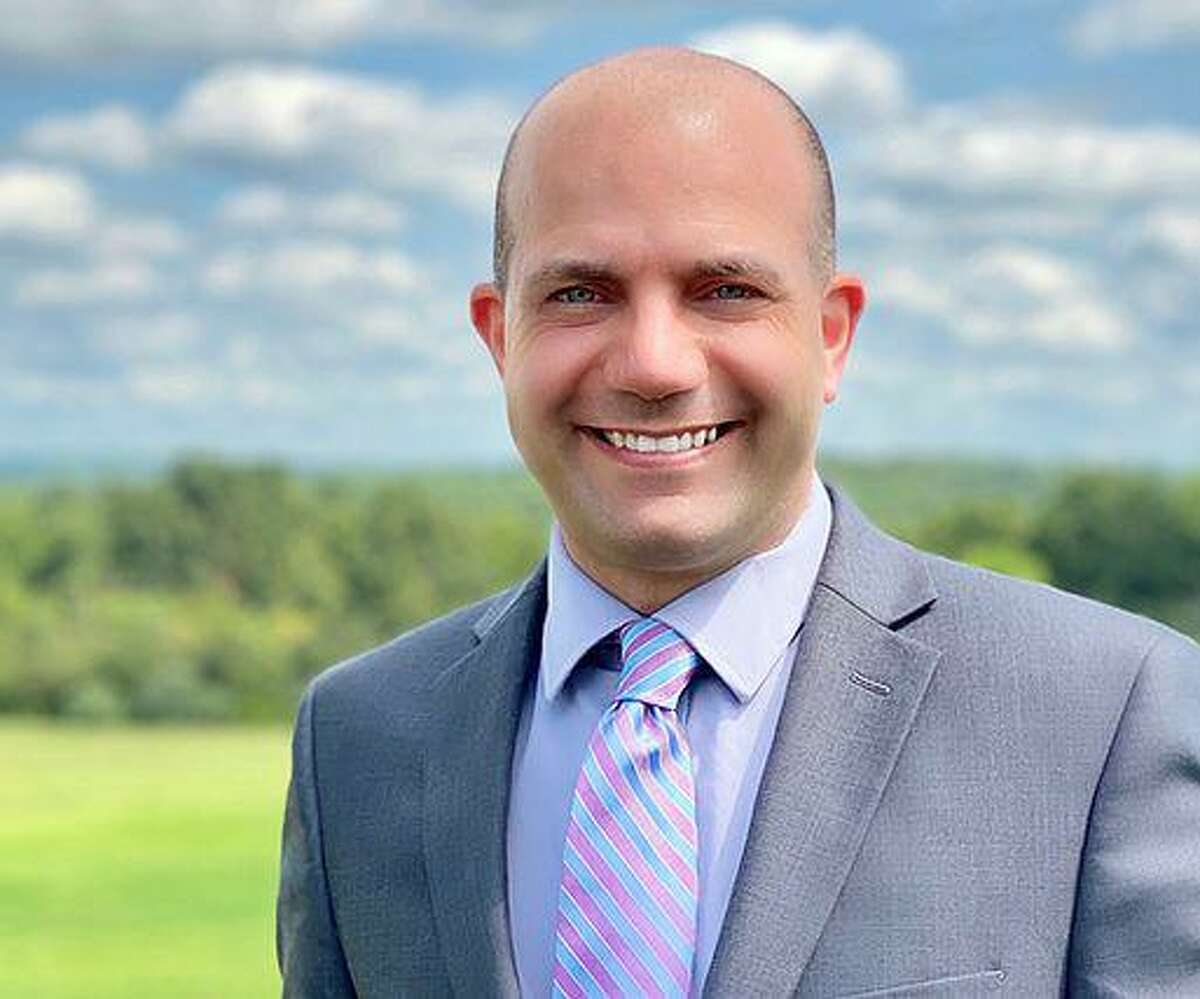 Jeffrey Desmarais is the Democratic candidate for State Senator in the 32nd District which includes Oxford, Roxbury and Seymour.