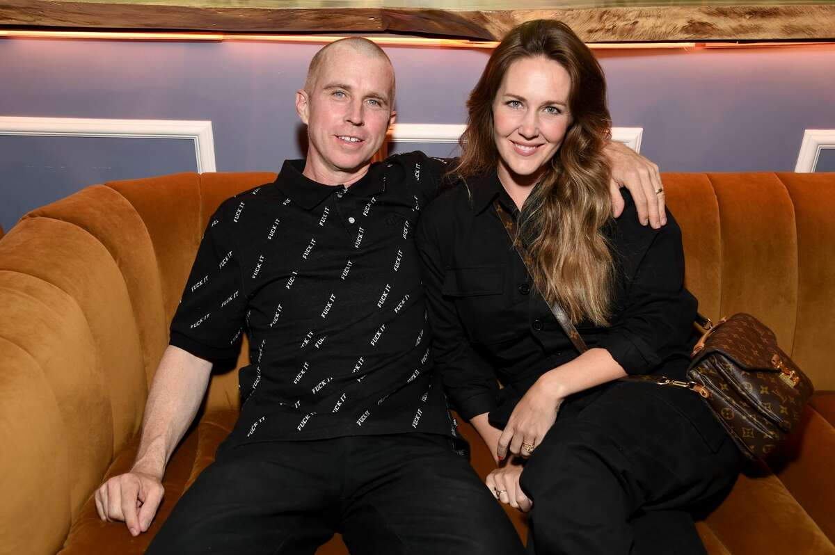 FILE - Keith Hufnagel and his wife, Mariellen Hufnagel, attend Playboy's Pleasure Issue Release Party at High Tide on Sept. 20, 2019 in Los Angeles. Known as a professional skateboarder as well as the founder of streetwear brand HUF, Keith died on Thursday at the age of 46.