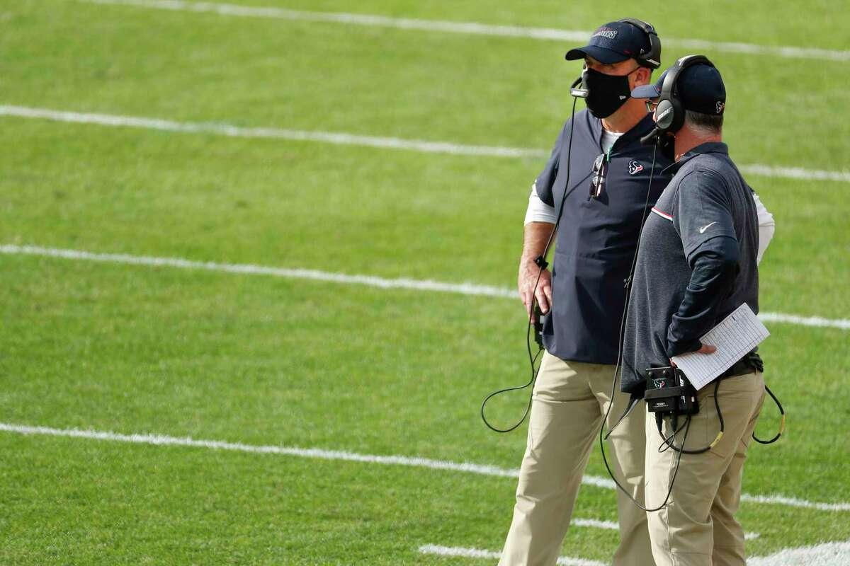 Texans receivers coach John Perry still stands behind former head coach Bill O'Brien.