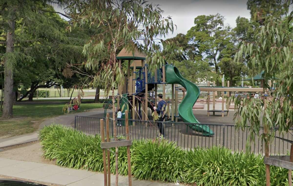 File photo of Washington Park in Burlingame.