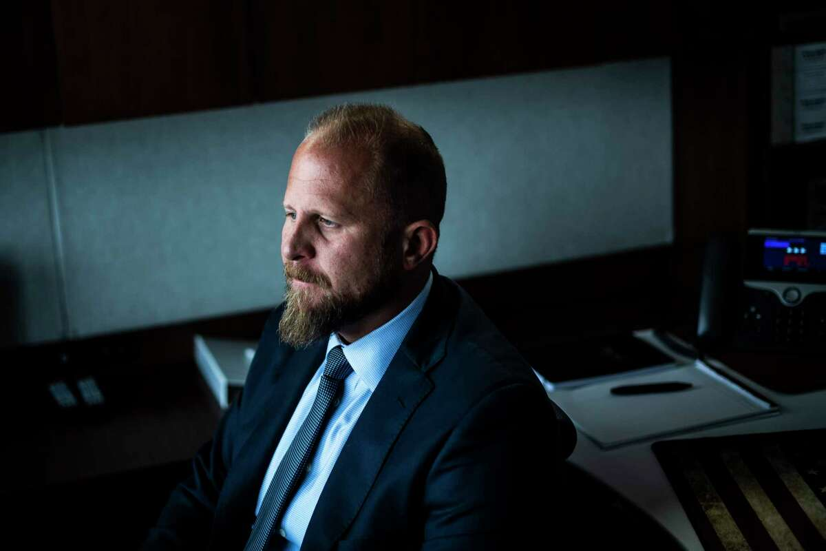 Brad Parscale, a former campaign manager for President Donald Trump, poses for a portrait in July 2019.