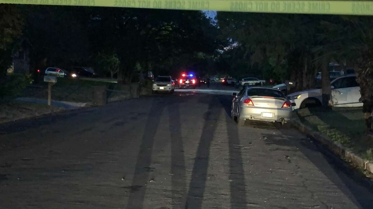 San Antonio Police said they shot a man while responding to a domestic violence call in the 4100 block of Tropical Drive, Sept. 28, 2020.