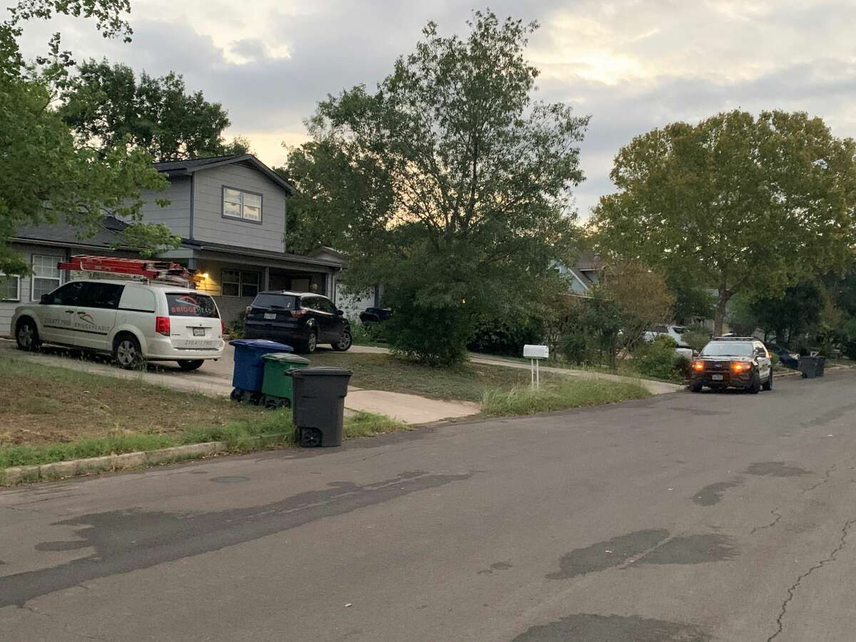 San Antonio police said they shot a man while responding to a domestic violence incident in the 4100 block of Tropical Drive early Sept. 28, 2020.