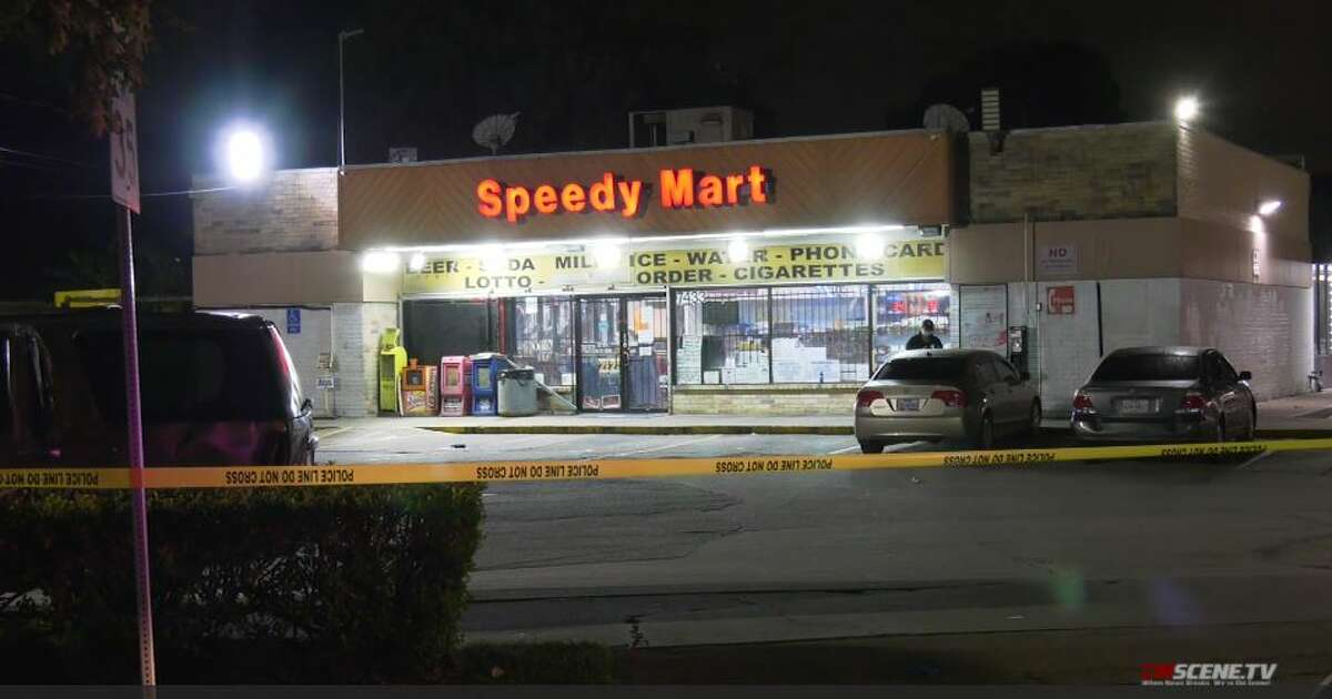 Police investigate a fatal shooting in west Houston on Sunday, Sept. 27, 2020.