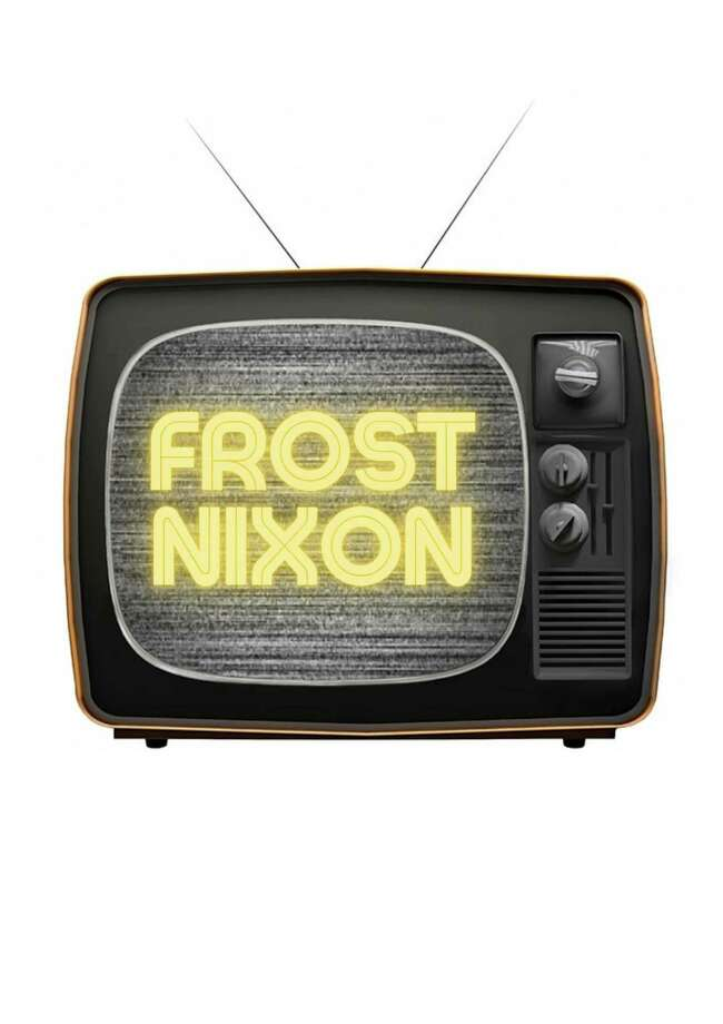 Performances of Frost/Nixon will be livestreamed at 7 p.m. Friday, Oct. 9 and Saturday, Oct. 10; and at 2 p.m., Sunday, Oct. 11. Photo: Milford Arts Council