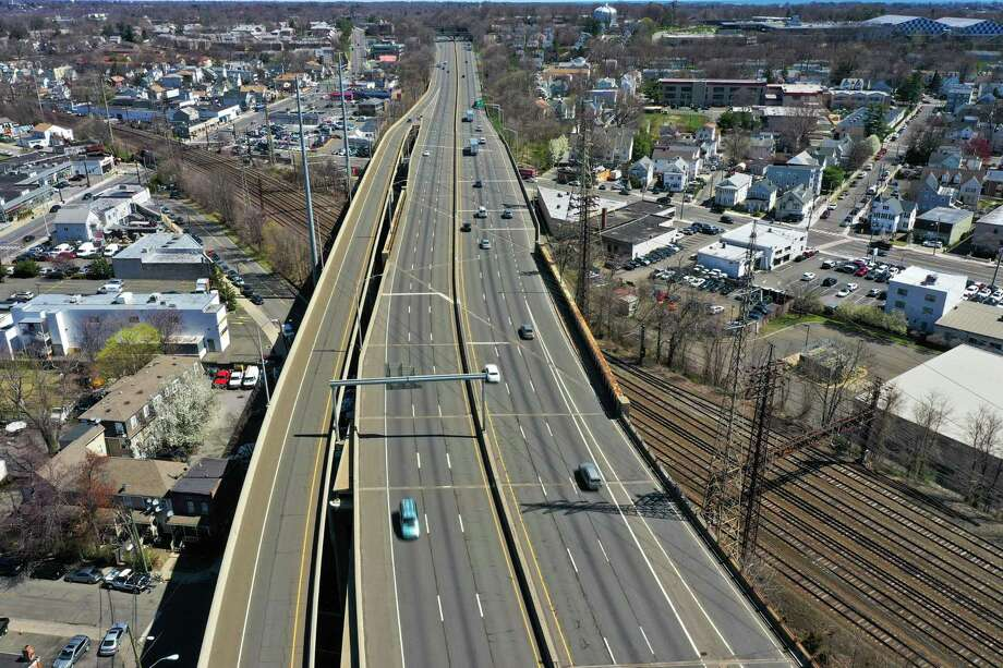 Connecticut's Statewide Transportation Improvement Program for 2021-2024 outlines several hundred million dollars for upgrades to Interstate 95, including improvements in Stamford. Photo: File Photo / Patrick Sikes / For Hearst Connecticut Media / Stamford Advocate file photo