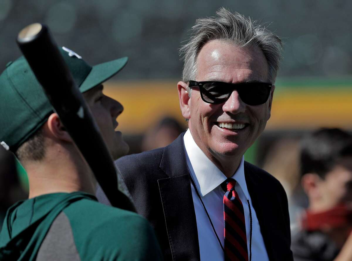 Billy Beane has seen his team win a playoff series just once in his 23 years with the team. He hopes that changes this week.