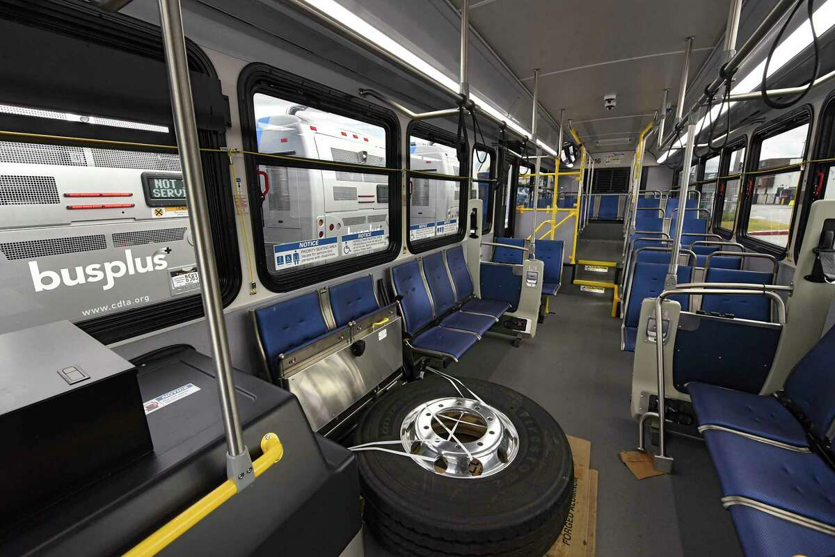 CDTA's Bus Rapid Transit Blue Line route was launched in the fall. The Purple Line, which will serve the Harriman office campus, is set to launch in 2022.