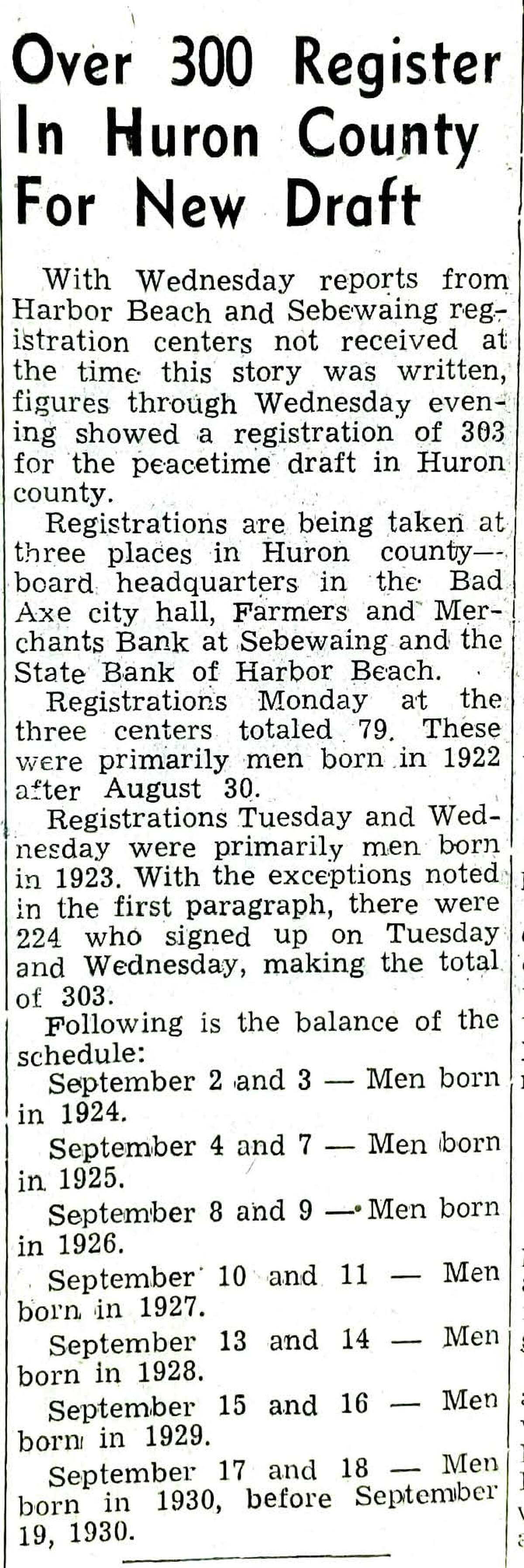 For this week's Tribune Throwback we visit to Sept. 1948.