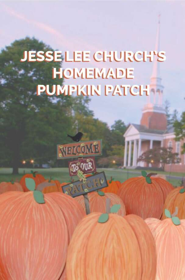 The annual sale of pumpkins to benefit the Navajo tribe will go on at Jesse Lee Church in Ridgefield, but this year the pumpkins will be made of plywood. Photo: Jesse Lee Methodist Church