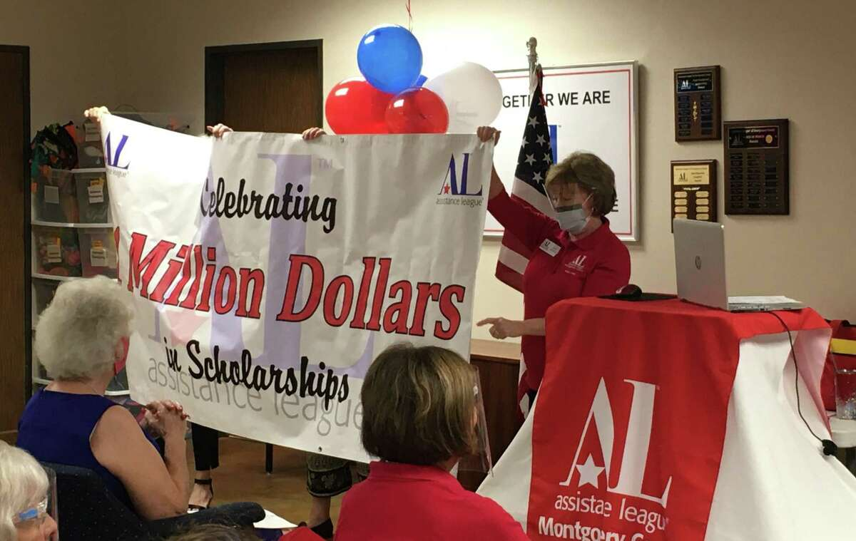 The Assistance League of Montgomery County announced a major milestone on Monday. The nonprofit group has given $1 million in scholarships since starting the scholarship program in 2006.