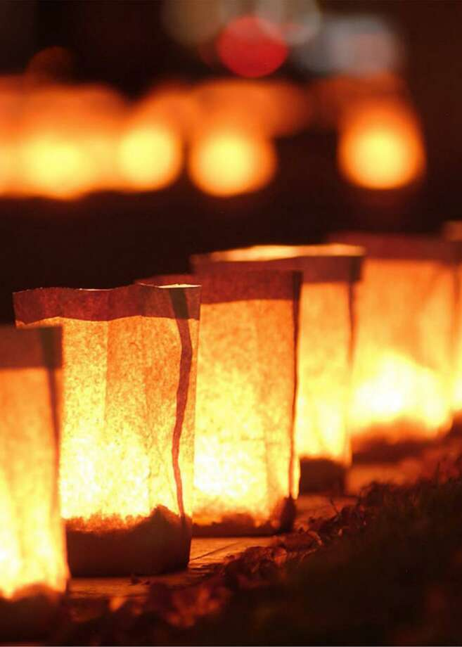 On Sunday, Oct. 18, the YWCA will begin the week with the lighting of Stand Against Domestic Violence luminaries at 6 p.m. Photo: Contributed / YWCA Darien /Norwalk