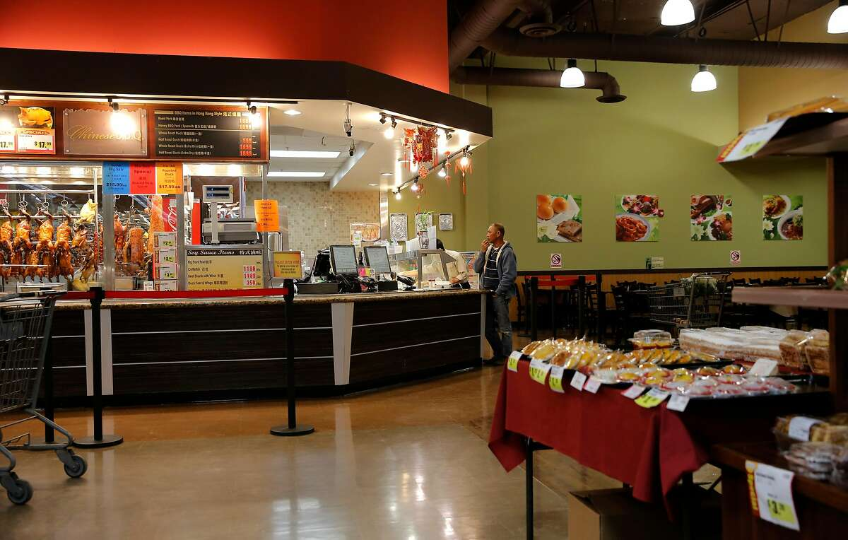The 99 Ranch Market has a restaurant inside the store in Pleasanton, Calif. as seen on Wed. November 4, 2015, The market tops a list of those who violated the city's excessive water use policy.